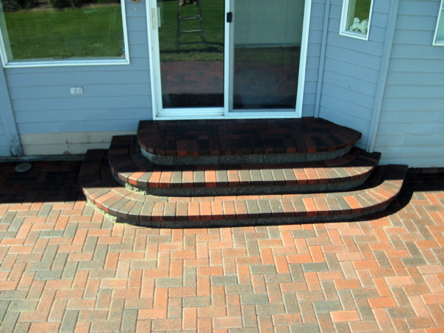 Hardscape Patios and Stairs